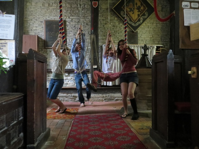 Ringing church bells